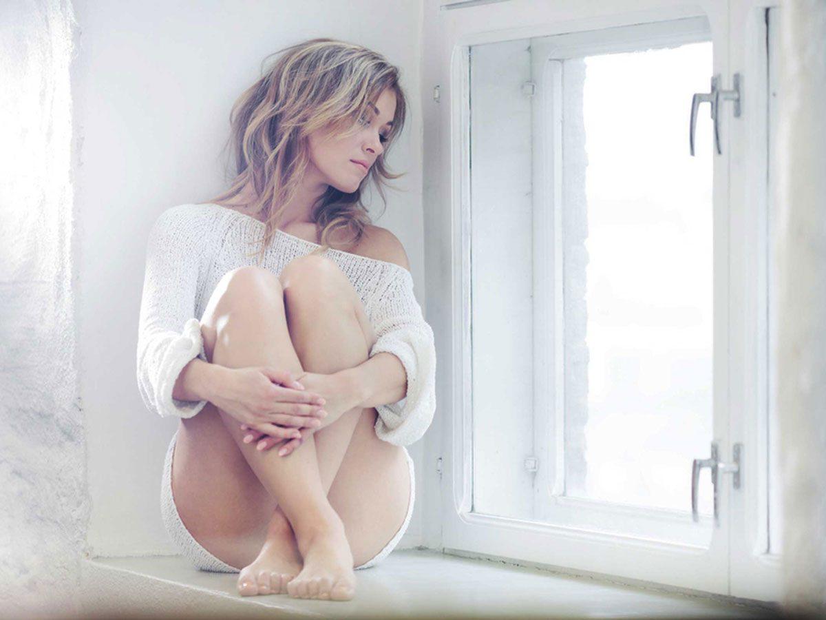 genetics - woman sad