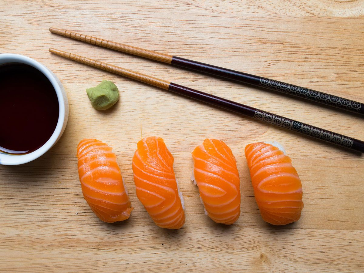 is sushi healthy