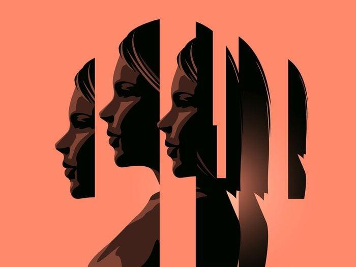 treating anxiety - woman