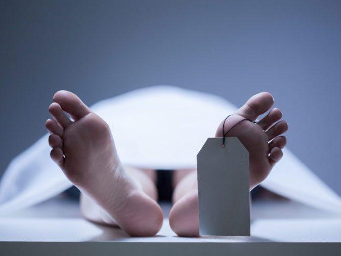 human body - dead person