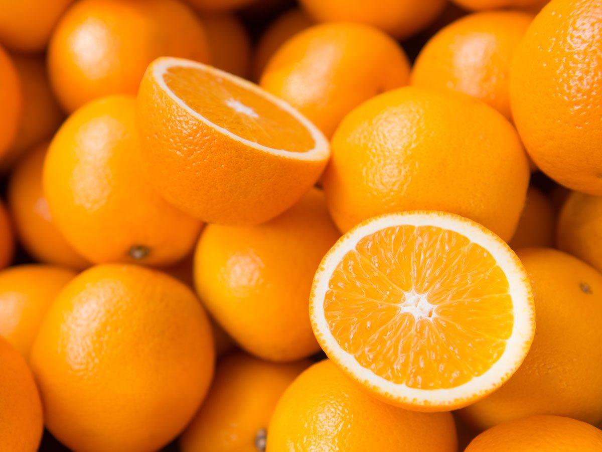 improve your eyesight - oranges
