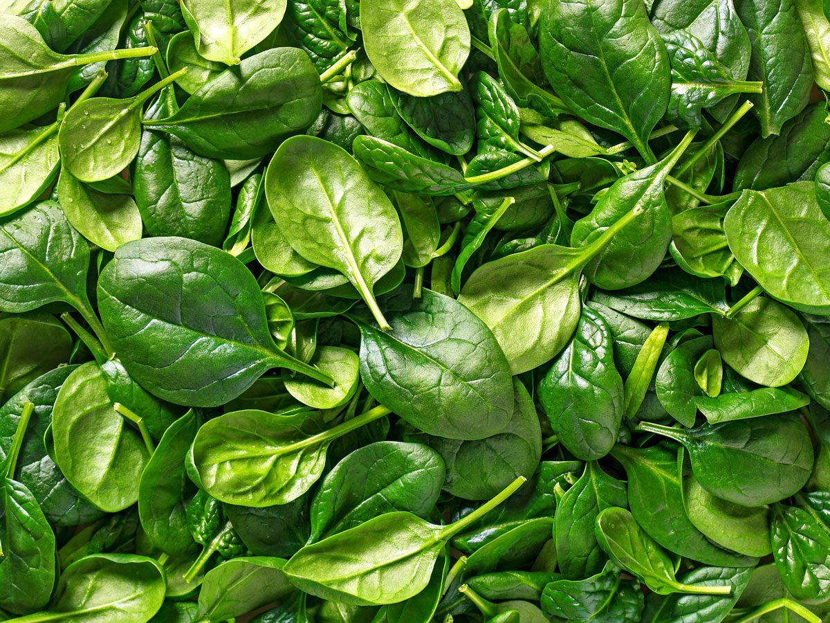 improve your eyesight - spinach