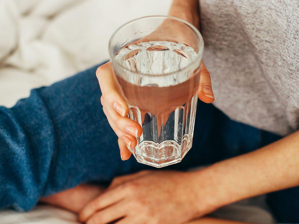 massage therapist secrets drink more water