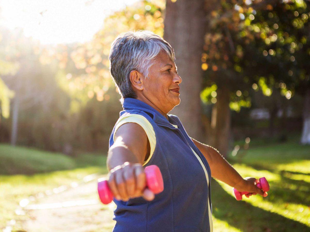 genetics - woman weights