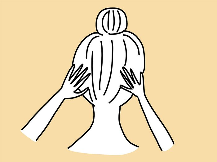 thinning hair scalp massage