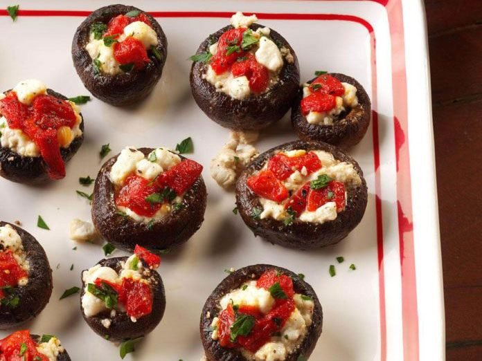 new years eve party recipes mushrooms