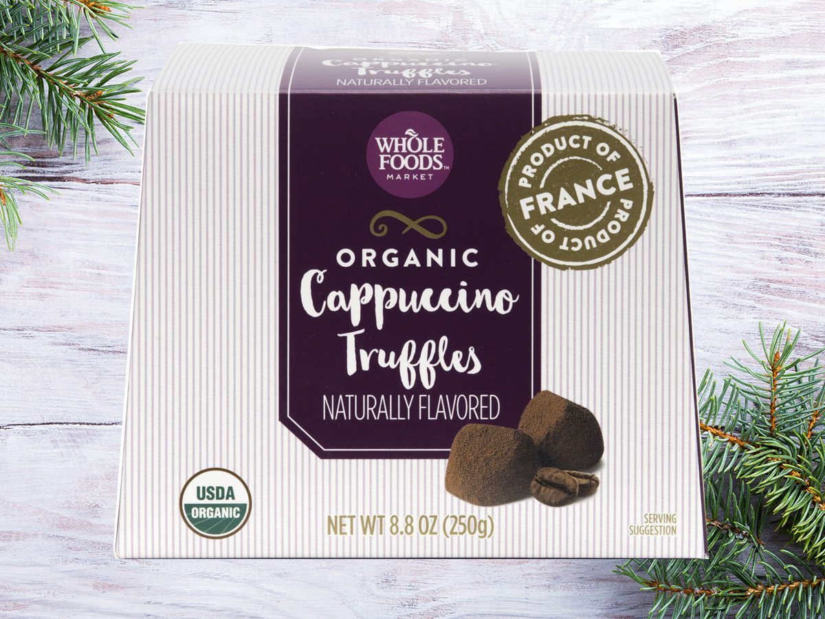 whole foods easy holiday entertaining truffles