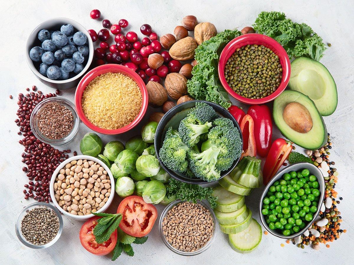 low residue diet vegan