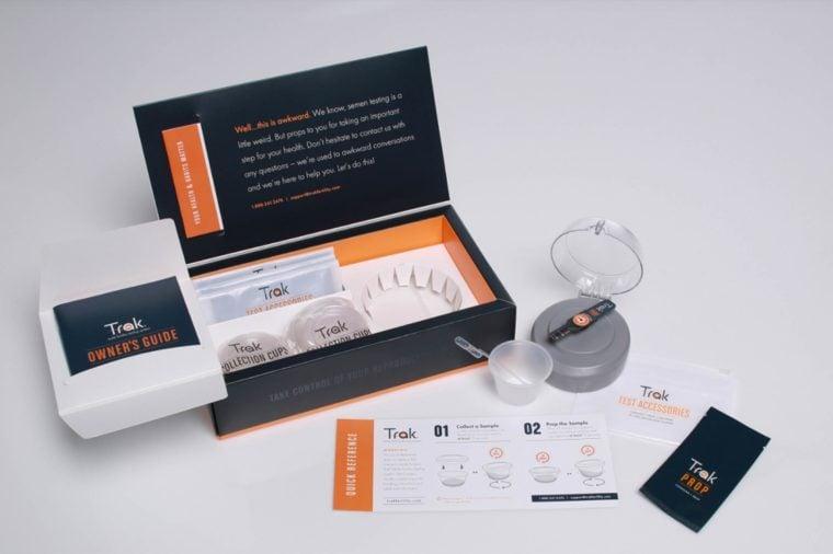 Boost Male Fertility | At-home male fertility testing kit
