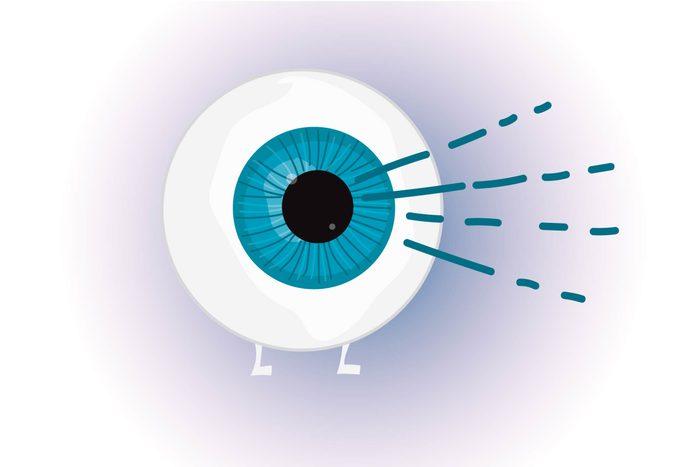 Graphic of eyeball