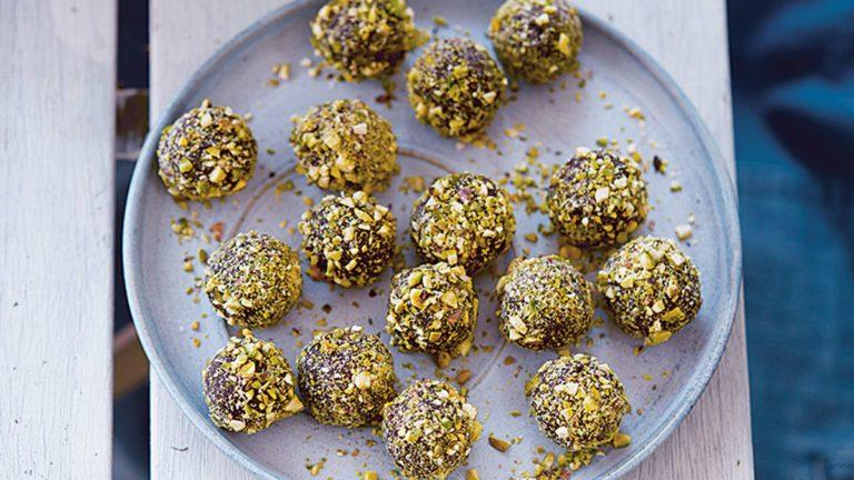 energy bites recipe, energy balls recipe, energy bars recipe, pistachio orange truffle bites, orange recipes