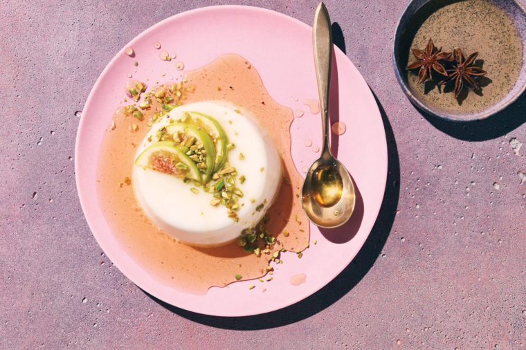 fig recipes | Panna Cotta
