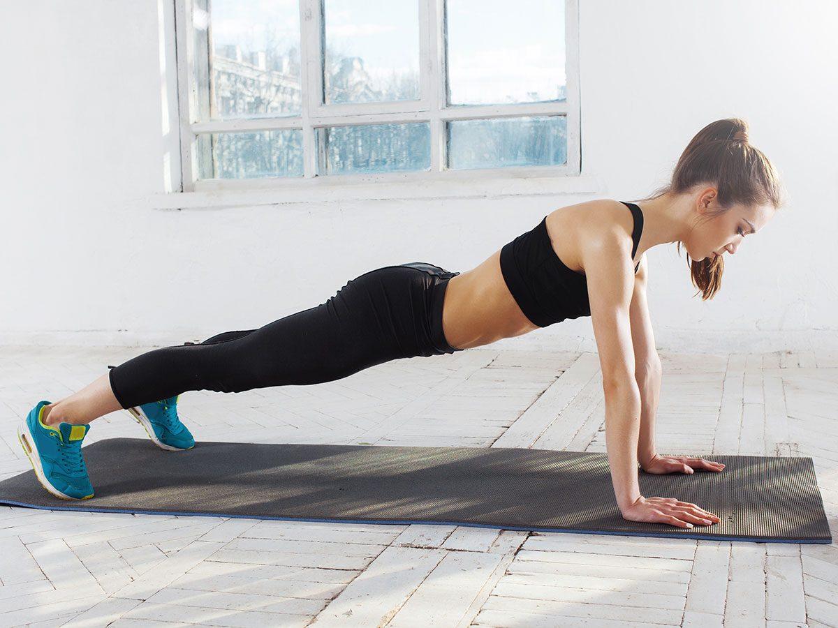 essential exercises - push-up