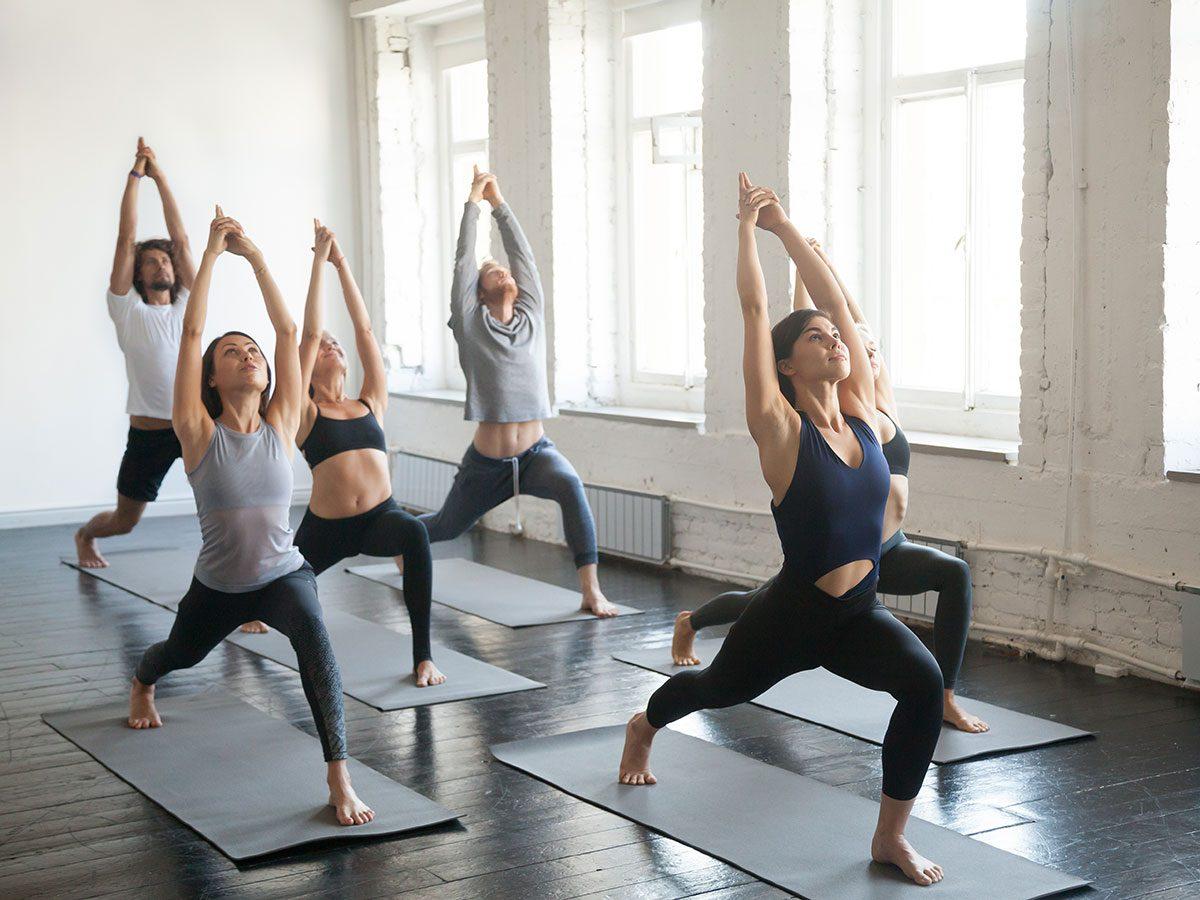 essential exercises - yoga
