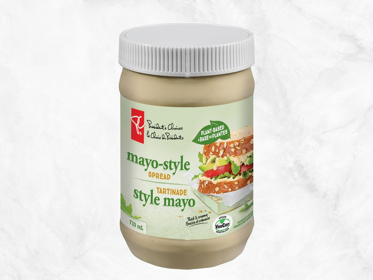 president's choice plant-based staples mayo-style spread