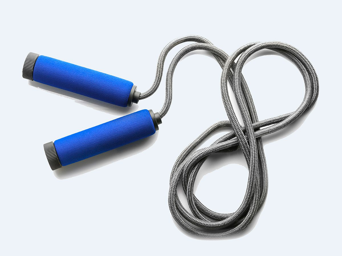 exercise with jump rope