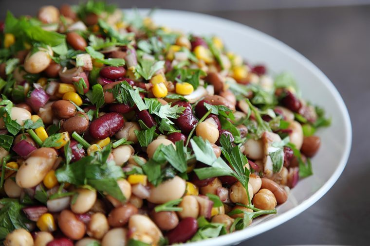 Foods to avoid before flying   Beans