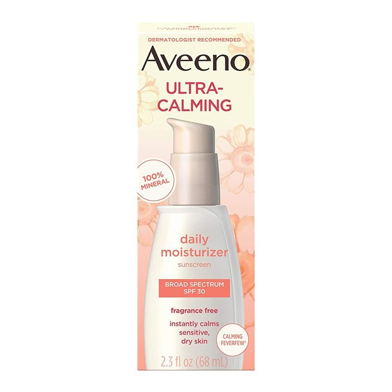 Aveeno ultra calming fragrance free daily moisturizer