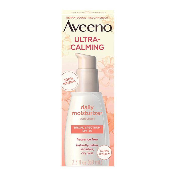 Aveeno ultra calming fragrance free daily moisturizer