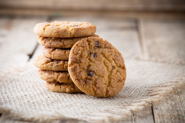 Healthy Chocolate Recipes   Chocolate Chip Oatmeal Cookies