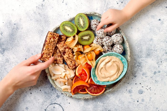 plant-based snacks | healthy finger foods and snacks