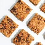 Nut-Free Carrot Granola Bars with Creamy Tahini