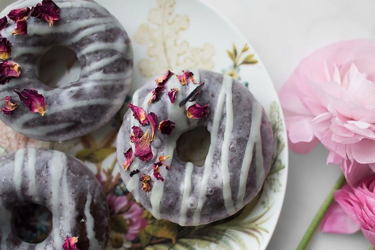 Healthy Chocolate Recipes | Chocolate Strawberry Glazed Doughnuts