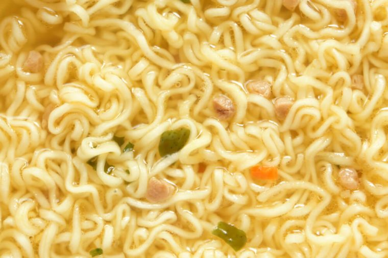 Instant noodles, for backgrounds or textures