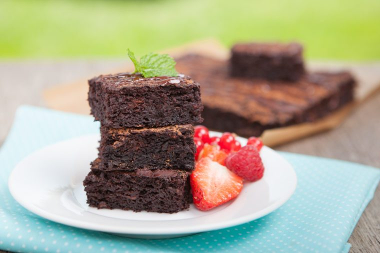 Healthy Chocolate Recipes | Avocado Chocolate Brownie