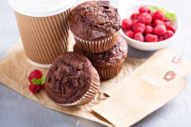 Healthy Chocolate Recipes   Creamy Chocolate Cupcakes