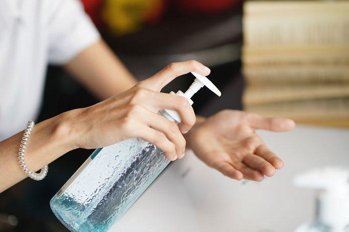 what kills the coronavirus, hand sanitizer