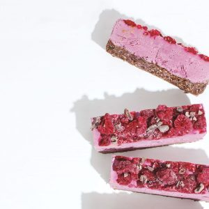 These Vegan Raspberry Chocolate Slices Make a Decadent Treat for All