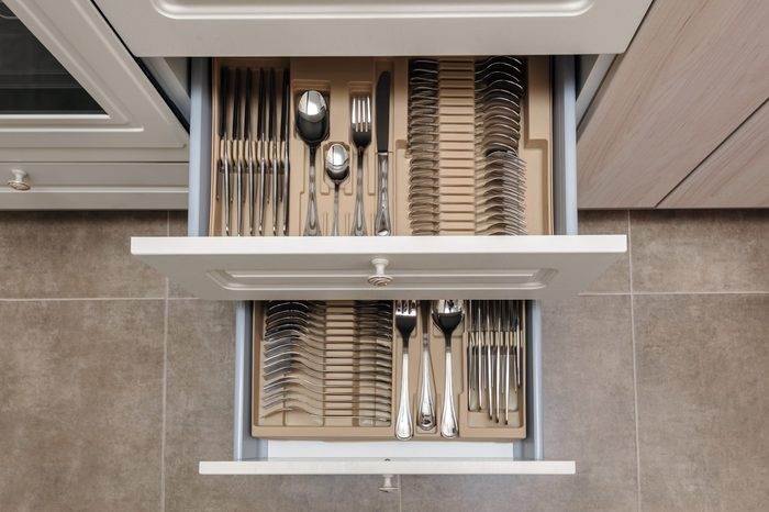 drawers spring cleaning