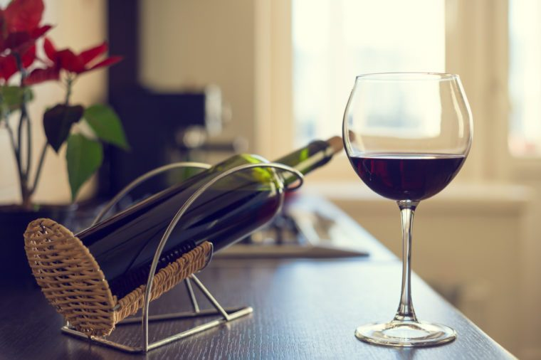 Boost your immunity naturally | glass of red wine