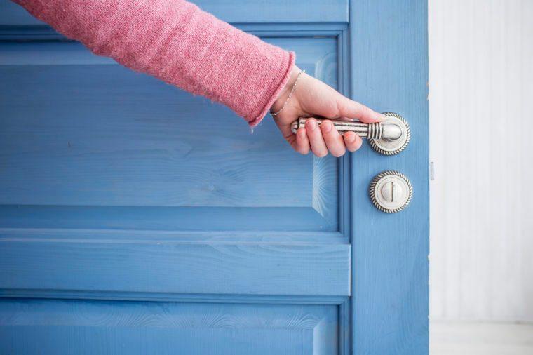 opening or closing door