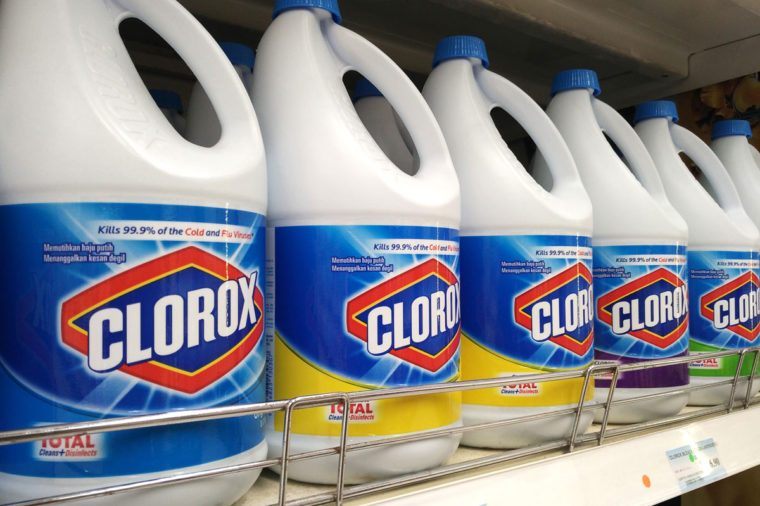 what kills the coronavirus, bleach