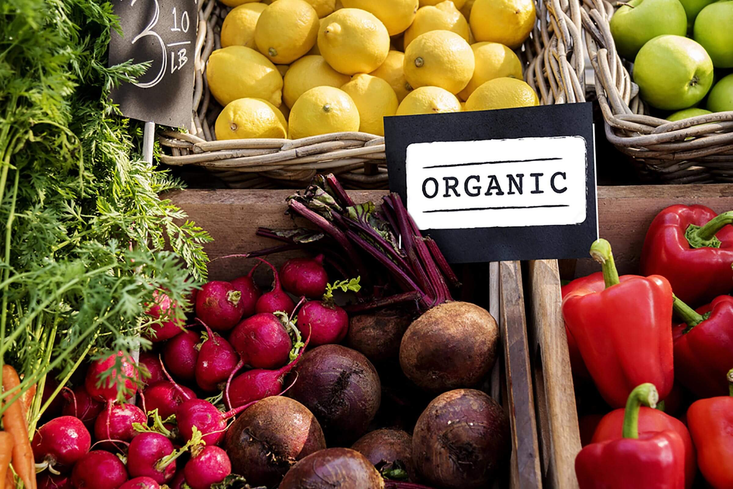 maintain a healthy weight | organic produce