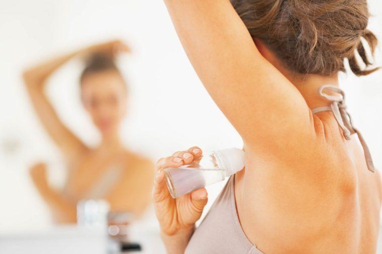 deodorant mistakes