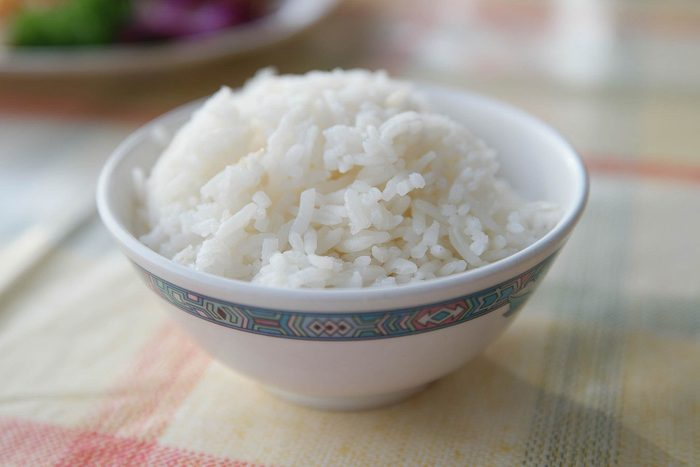 cooked white rice in a bowl