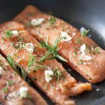 Salmon with Herbed Farro