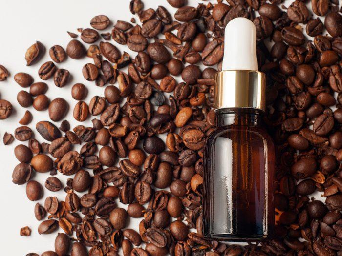 caffeine skin-care products