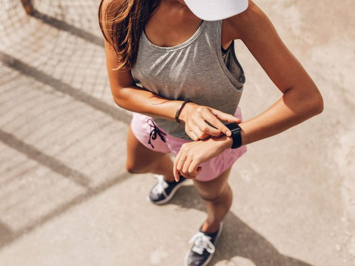 fitness tracker to get fit