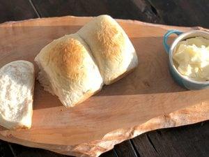 Lynn Crawford's Milk Bread with Honey Butter