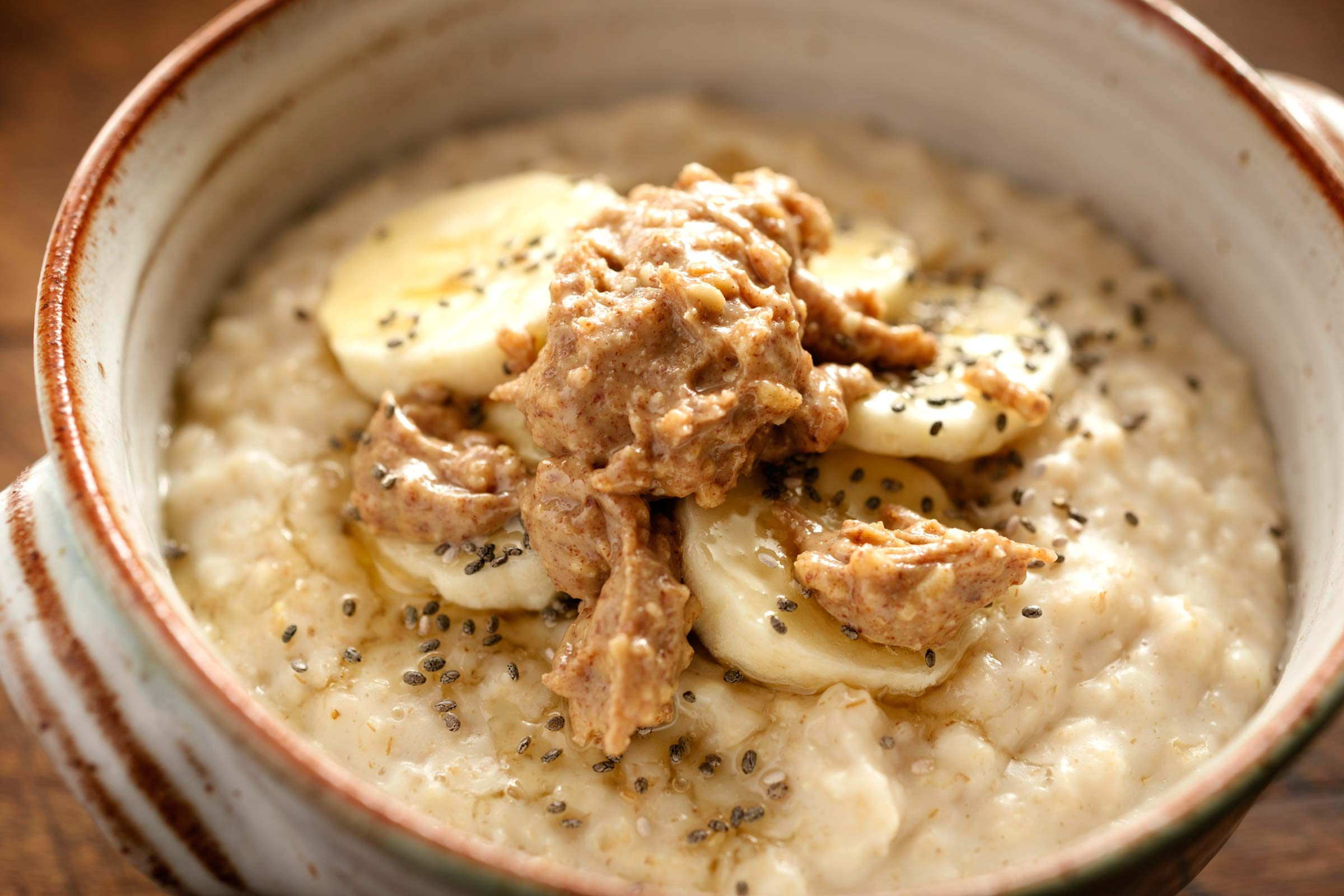 refuel after exercise | oatmeal with bananas