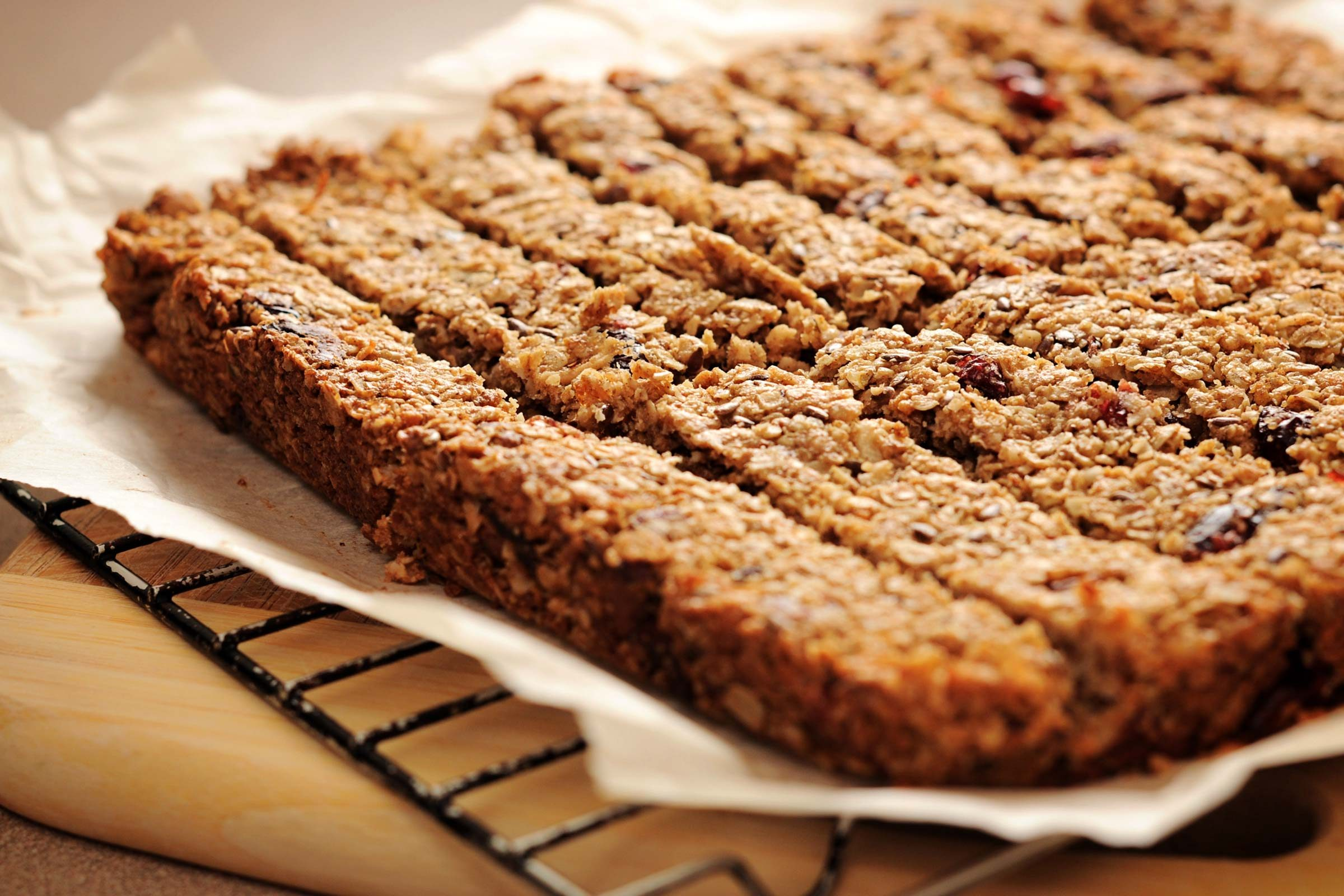refuel after exercise | homemade protein bar