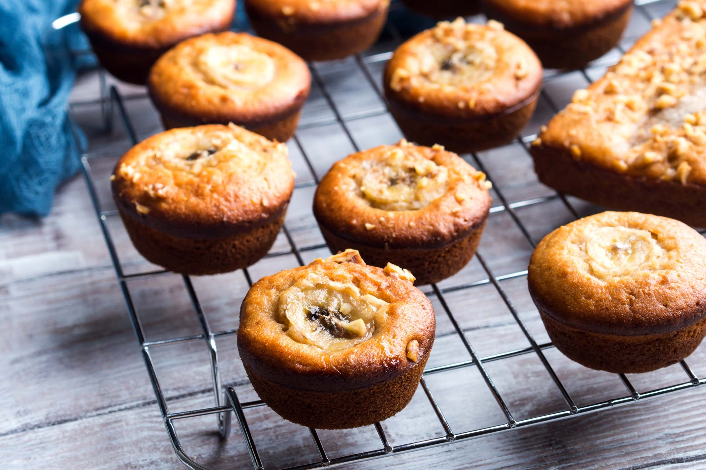 refuel after exercise | banana-muffins