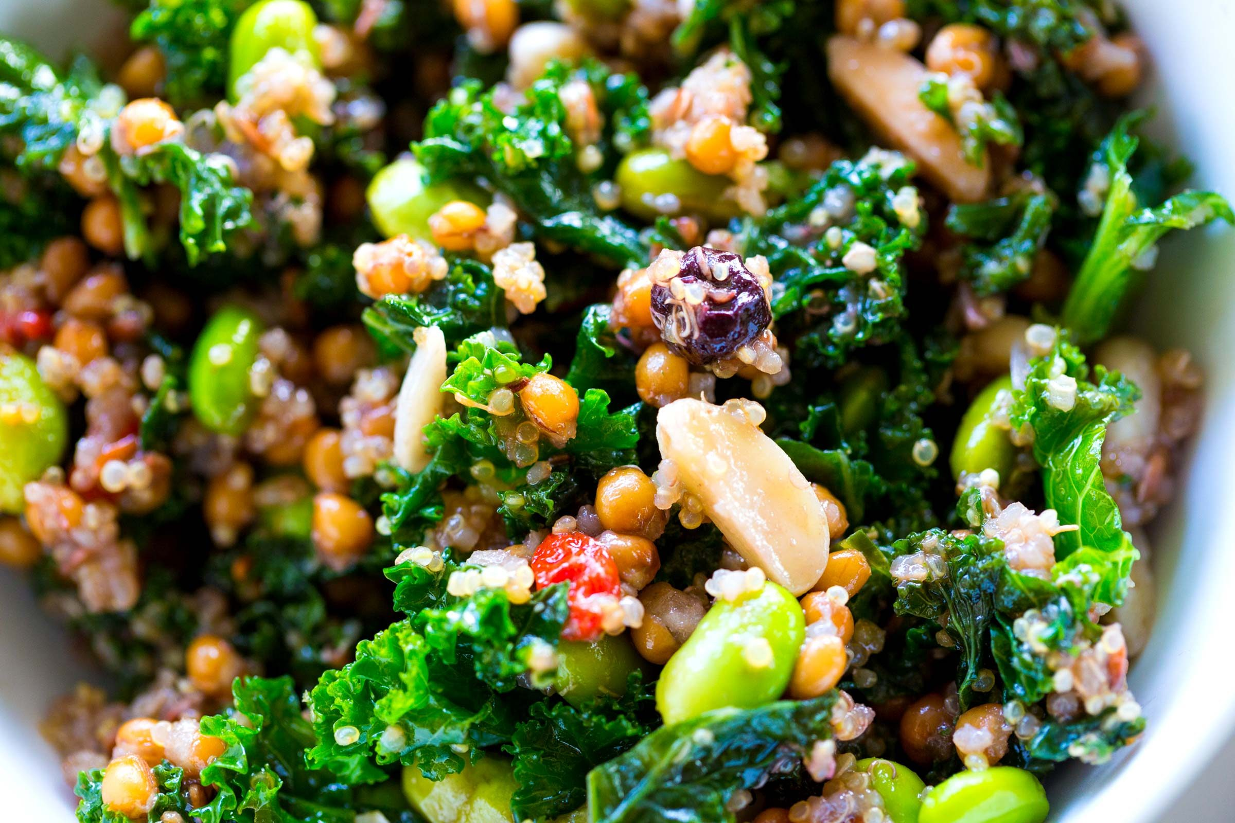refuel after exercise | quinoa and grain bowl