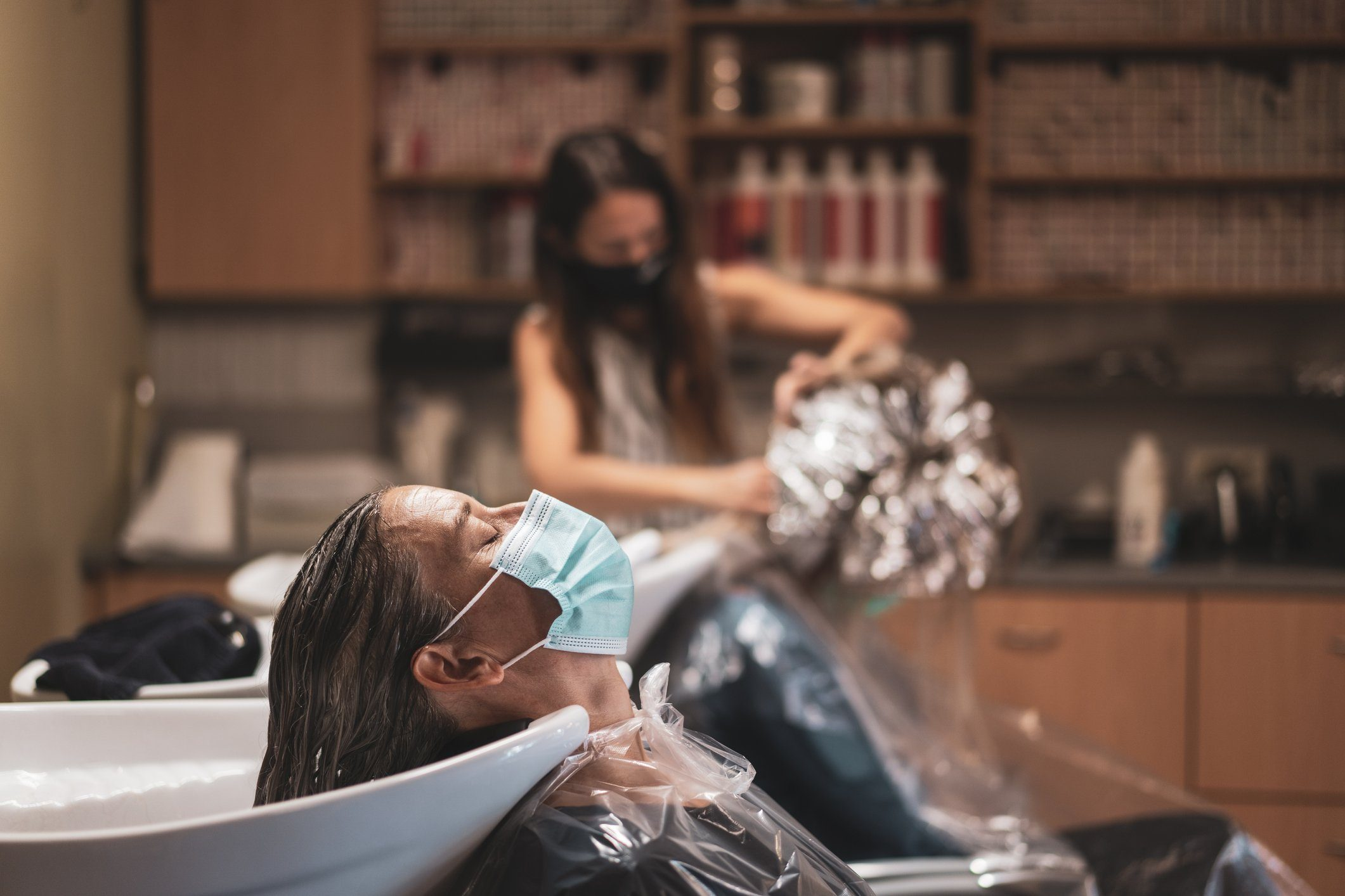 hair appointment during the Covid-19 pandemic