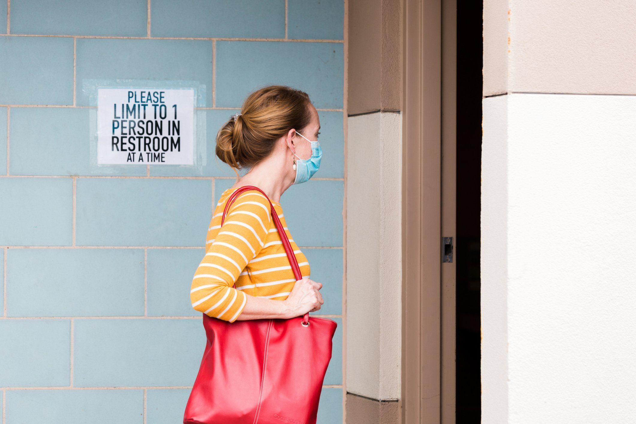 public restroom during coronavirus | public restroom during coronavirus