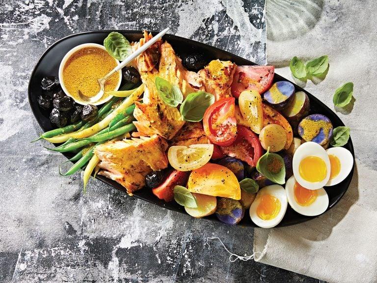 fridge-friendly recipes   Salmon Nicoise